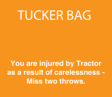 Injured by tractor